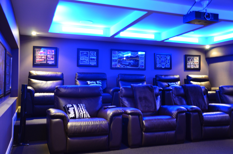 Empire Interior Plastering Home Theater